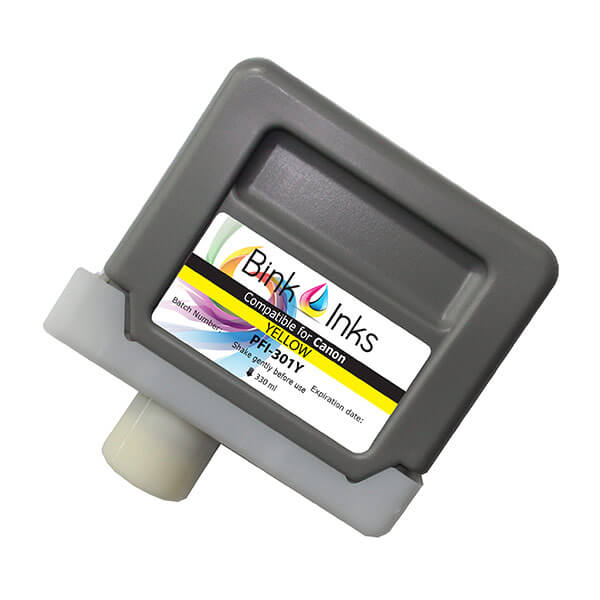 Replacement Cartridge for Canon Yellow PFI-301Y