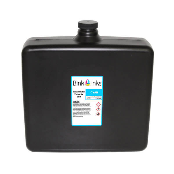 Replacement Bag for Vutek UV Cure 5 Liter Cyan