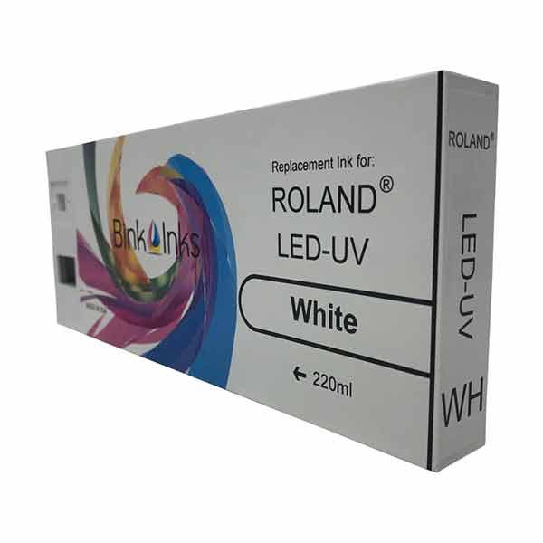 Roland LED UV 220ml White