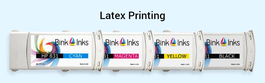 Latex printing